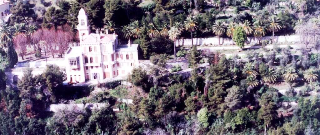 Villa St. Georges w Grasse, Francja (zdjęcie moje z helikoptera)