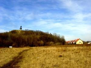 widok na Kopiec od strony południowej w 2002 r